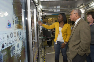 Charles Bolden, NASA Administrator visiting HUNCH projects at MSFC